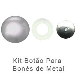 Kit Botao Metal para bones