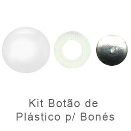 Kit Botao para bones Plastico