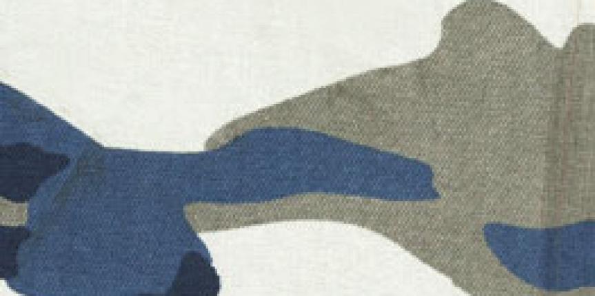 Brim Camuflado Azul e Caqui com Elastano