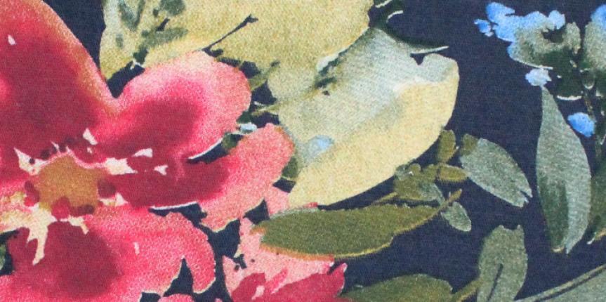 Tecido Estampado Santanense Floral Alice 6744 A5-EQ