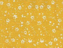 Tecido Estampado Floral Amarelo