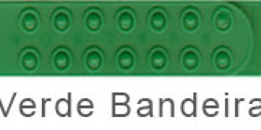 REGULADOR PLASTICO SIMPLES VERDE BANDEIRA